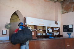 Negozio locale cubano fotografia stock libera da diritti