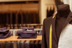 Negozio moderno del vestito Immagini Stock