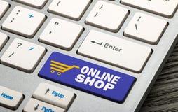 Negozio online Fotografia Stock