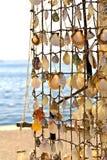 Negozio turistico su un'isola greca Fotografia Stock Libera da Diritti