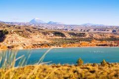 Negratin reservoir near Baza. Andalusia Royalty Free Stock Photos