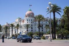 negresco гостиницы Франции славное Стоковое Фото