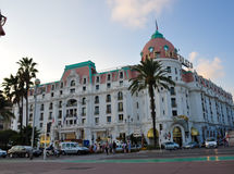 Negresco hotel in Nice Stock Images