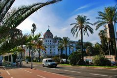 Negresco in Nice Royalty Free Stock Photography