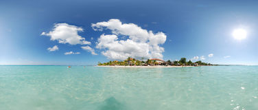 Negril 360 Royalty Free Stock Photography