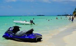 Negril Beach Jamaica. In the Carribean stock photos