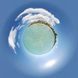 negril planeta Zdjęcie Stock
