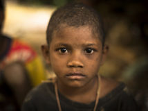 Negrito Sakai, satun, Tailândia Imagem de Stock