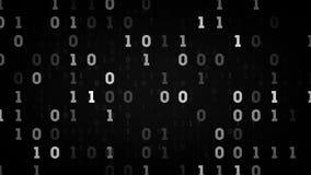 Negro binario de los campos de datos libre illustration