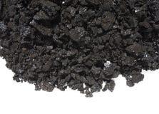 Negro blanco del fondo del hollín de la chimenea foto de archivo libre de regalías