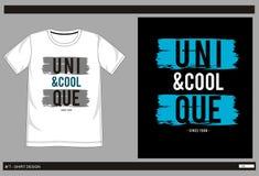 Negro blanco 002 del vector de la camiseta Foto de archivo