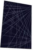 Negro con la línea de tiza coloreada fondo Imágenes de archivo libres de regalías