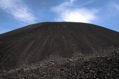 Negro de Cerro del volcán, cerca de Leon, Nicaragua Imagen de archivo libre de regalías