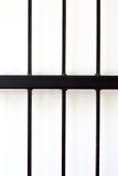 Negro de la jaula Imagenes de archivo