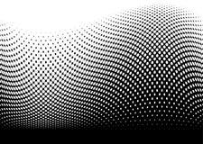 Negro de la onda de la resaca del océano libre illustration