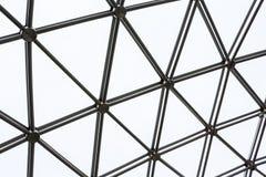 Negro de la rejilla de la textura del fondo Fotos de archivo libres de regalías