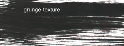 Negro de la textura del Grunge Fotos de archivo libres de regalías