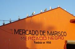 Negro de Mercado em Ensenada, México Fotografia de Stock