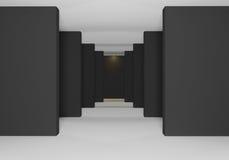 Negro de paredes Imagen de archivo libre de regalías