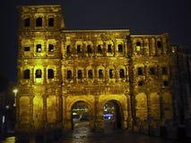 Negro de Porta - noite - S?RIE - Alemanha fotografia de stock royalty free