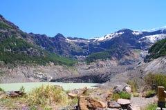 Negro de Ventisquero - Patagonia - la Argentina Fotos de archivo