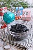 Negro del caviar Imagen de archivo