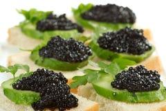 Negro del caviar imagen de archivo libre de regalías