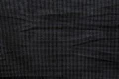 Negro del fondo de la textura de la tela Fotos de archivo