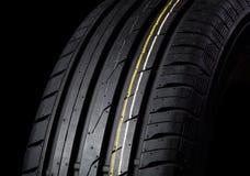 Negro del neumático Foto de archivo libre de regalías