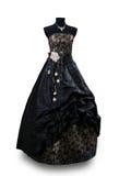 Negro del vestido de noche fotografía de archivo