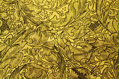 Negro en el oro Imagen de archivo libre de regalías