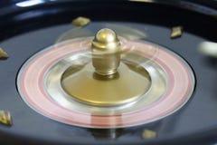 Negro rojo del número de la suerte del juego del juego de la ruleta Imagen de archivo