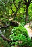 negro spiritual för japan s för beautifull trädgårds- Arkivbild