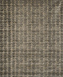 Negro verdoso cubre o papel pintado Swatch del modelo de ondas Imagen de archivo