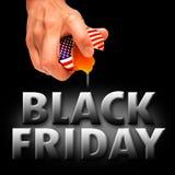 Negro viernes de América Imágenes de archivo libres de regalías