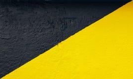 Negro y amarillo Imágenes de archivo libres de regalías