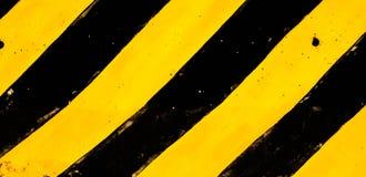 Negro y amarillo tradicionales Imagen de archivo libre de regalías