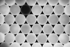 Negro y blanco Imágenes de archivo libres de regalías