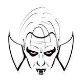 Negro y blanco de Drácula libre illustration