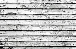 Negro y blanco de la pintura de la peladura Fotografía de archivo libre de regalías