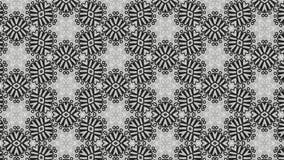Negro y diseño de Gray Vintage Ornament Wallpaper Pattern libre illustration