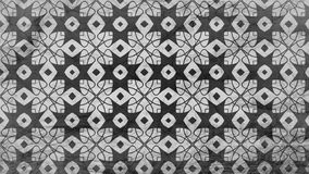Negro y Gray Geometric Ornament Background Pattern libre illustration