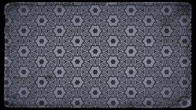 Negro y modelo de Grey Vintage Decorative Ornament Background stock de ilustración