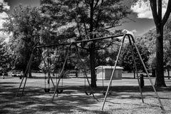 Negro y paisaje del wight Fotografía de archivo libre de regalías