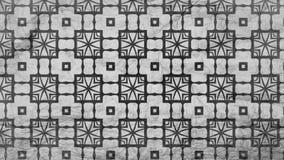 Negro y plantilla del diseño de Grey Geometric Ornament Background Pattern stock de ilustración