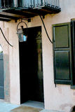 Negro y Tan Door y entrada en el SC de Charleston Fotografía de archivo libre de regalías