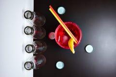 Negroni do cocktail Fotografia de Stock Royalty Free