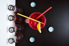 Negroni do cocktail Imagens de Stock