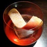 Negroni fumoso del cocktail Fotografia Stock Libera da Diritti