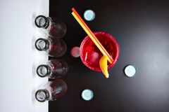 Cocktail negroni Royalty Free Stock Photography